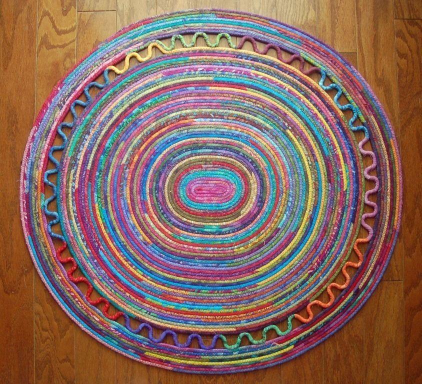 Diy Rag Rug Basket: Clothesline Rug Pattern - Google Search