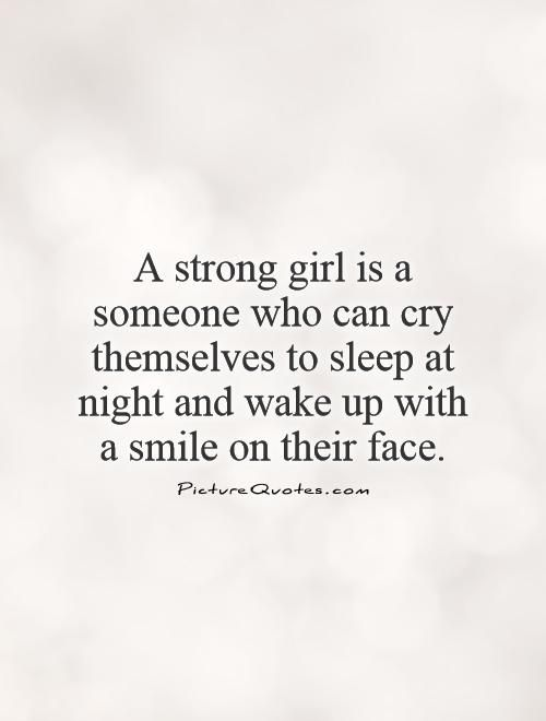 Pin by Katie Tennison on Love | Strong girl quotes, Strong ...