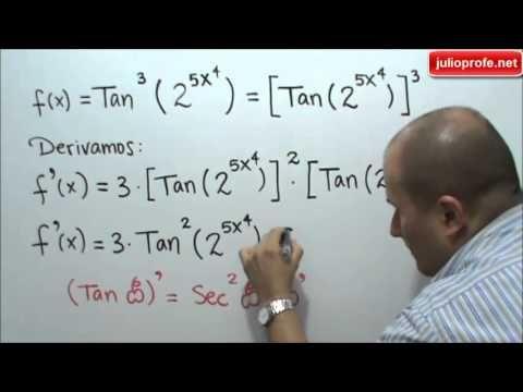 Derivación Con La Regla De La Cadena Julio Rios Explica Cómo Derivar Una Función Utilizando La Regla D Regla De La Cadena Números Primos Matematicas Avanzadas