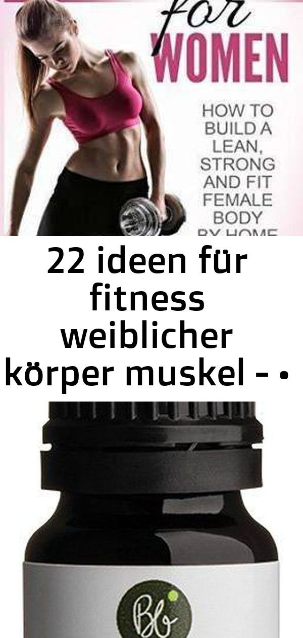 Diät für weibliche Muskeln