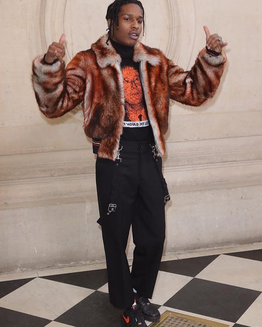 ASAP Rocky is one of the most influential fashion icons of