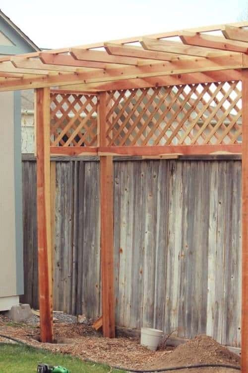 ingenious ways to regain privacy from second story on inexpensive way to build a wood privacy fence diy guide for 2020 id=56414