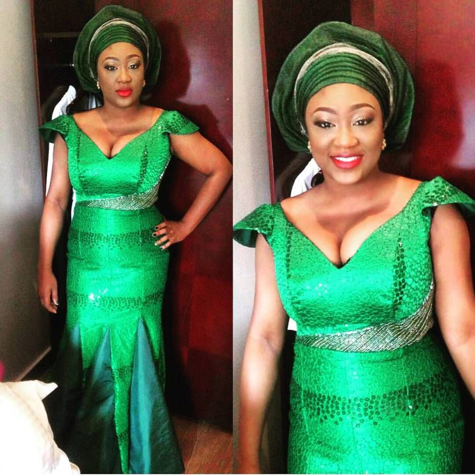Wedding dress boxing  Dressed to Thrill Gorgeous AsoEbi Styles that will Sweep You off