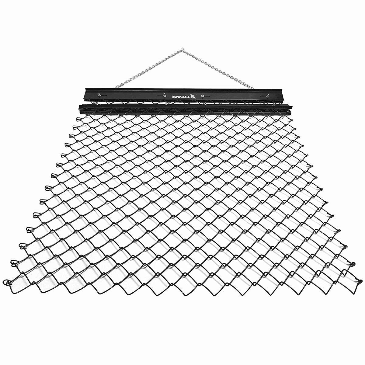 Titan 4 x 5 Drag Harrow Grading Leveling Drag Mat Steel