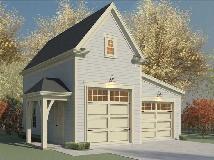 Rv Garage Plan 006g 0159