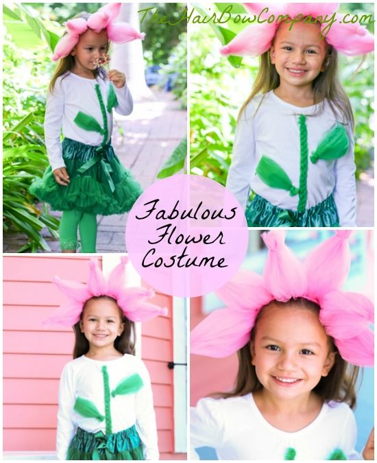 Flower Costume In 2019 Diy Crafting Flower Costume Diy Girls