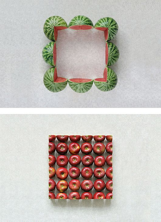 Geometric Food Art by Sakir Gokcebag | Inspiration Grid | Design ...