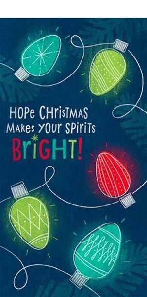 Spirits Bright and Brighter Christmas Pinterest Hallmark