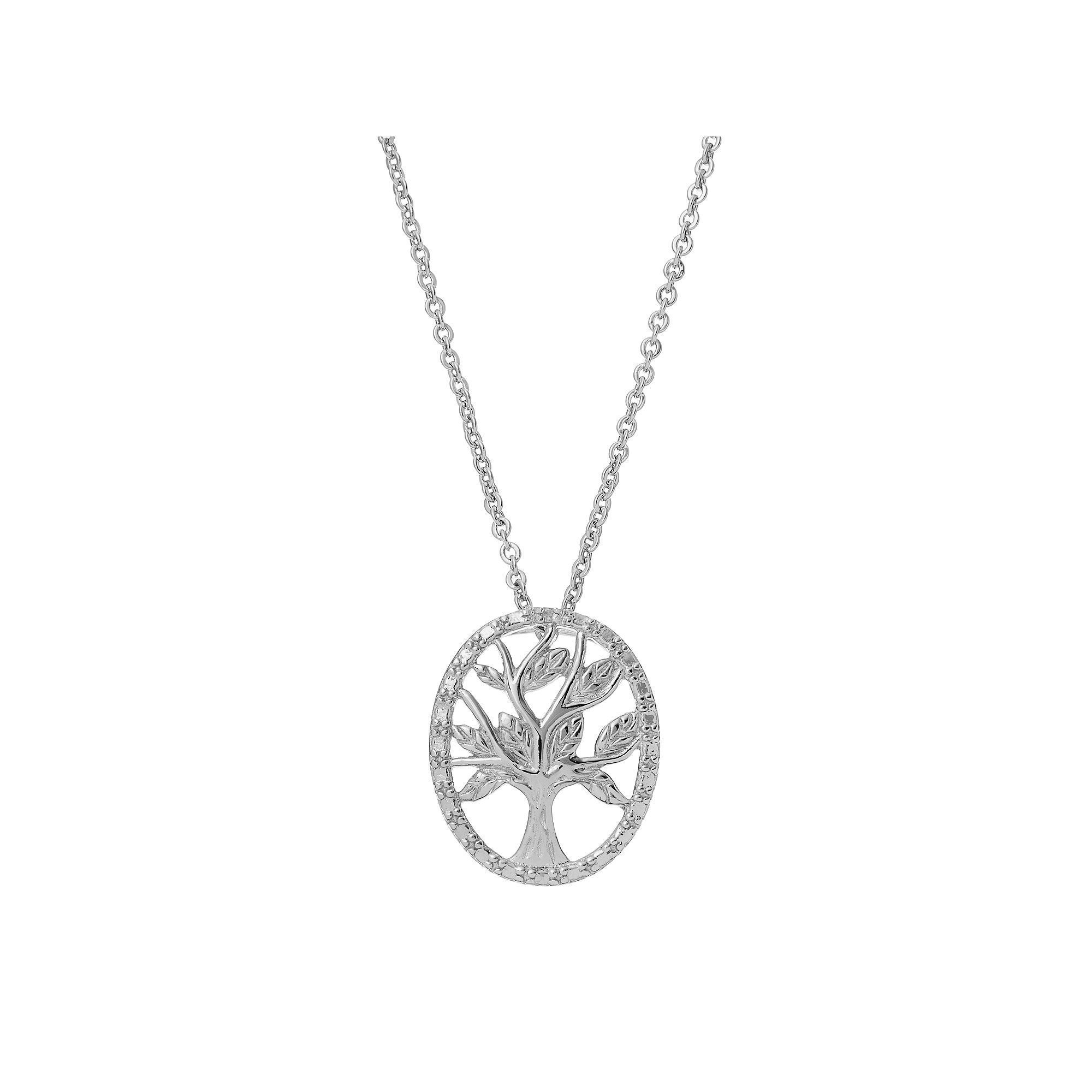 verse tree inspirational family pendant life of crystals silvertone clear with pammyj products and