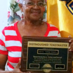 First Distinguished Toastmaster – DTM Monica Woodley