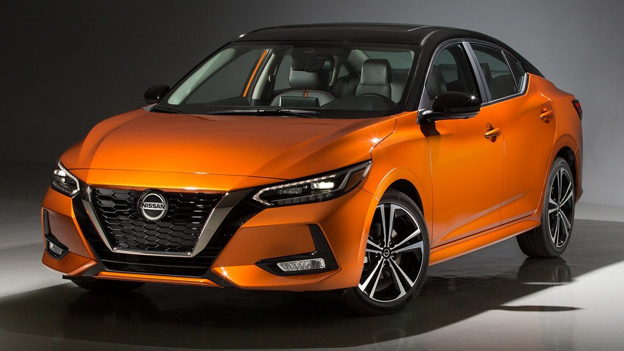 LA Auto Show The 2020 Nissan Sentra is a sleeker compact