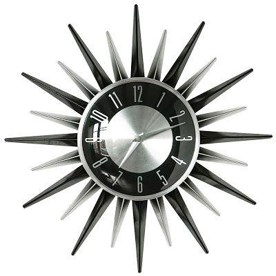 George Nelson Asterisk Clock, 1950u0027s