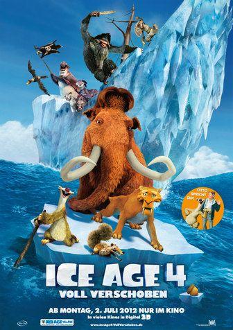 Ice Age 4 Filmplakat 2012 Ice Age 4 Dvd Blu Ray Soundtrack