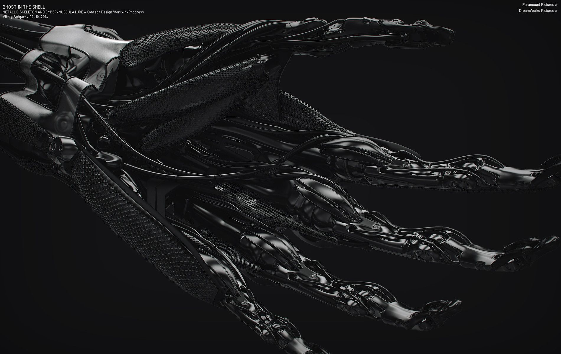 """ArtStation Concept Design work for """"Ghost In The Shell"""