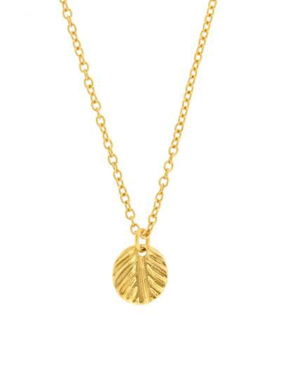 Mini Leaf Necklace | LEILA