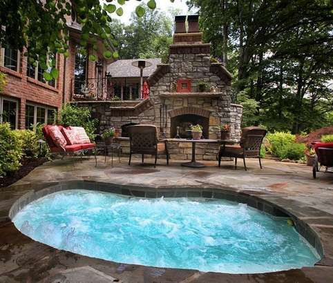 25 Stunning Garden Hot Tub Designs Spa Exterieur Terrasse