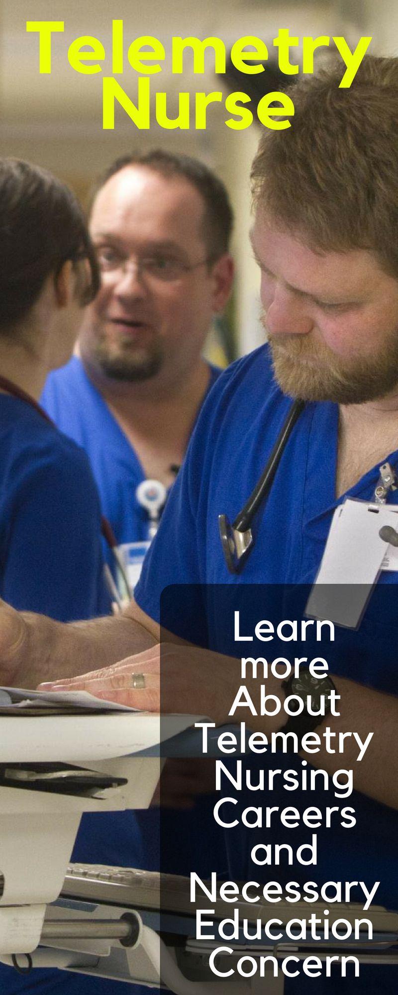 Telemetry nurse education salary and job description job