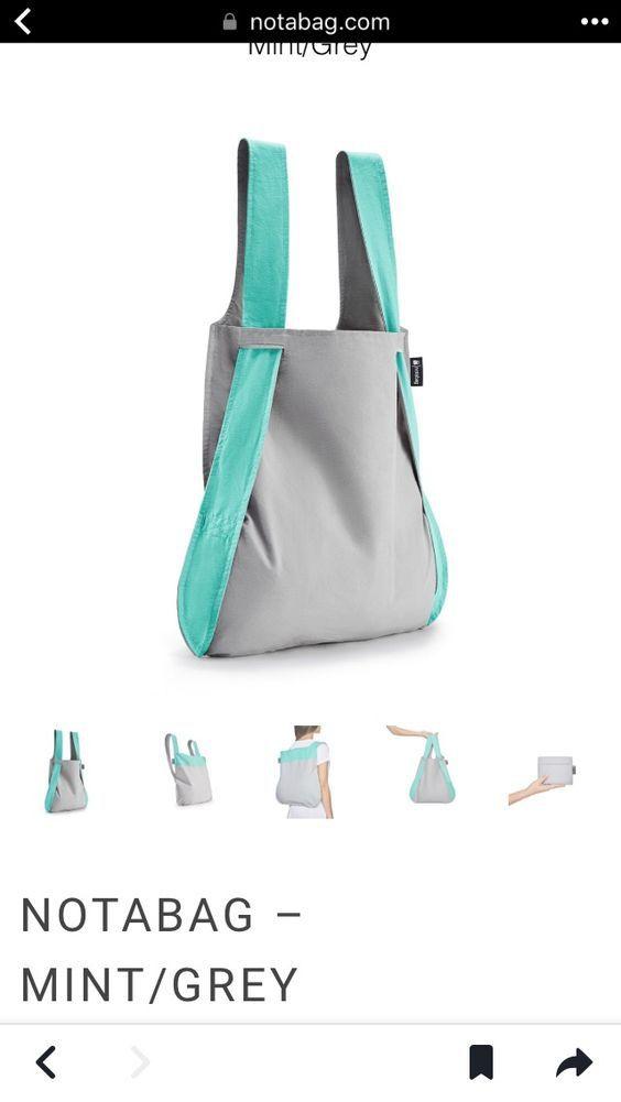 Сумка-рюкзак складная