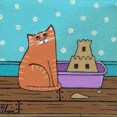 FB page - Cat and Crow Children's Book ♥ Litter Box Art - Craypas -https://www.facebook.com/photo.php?fbid=563462283696711=pb.229636013746008.-2207520000.1375812096.=3