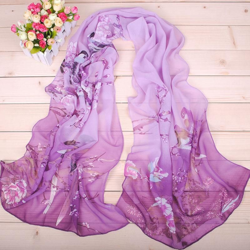 >> Click to Buy << New Women Scarves Fashion Summer Women's Scarf Beach Shawl Ladies/Female Bubble Chiffon Scarves Floral Printed Headwear Shawls #Affiliate