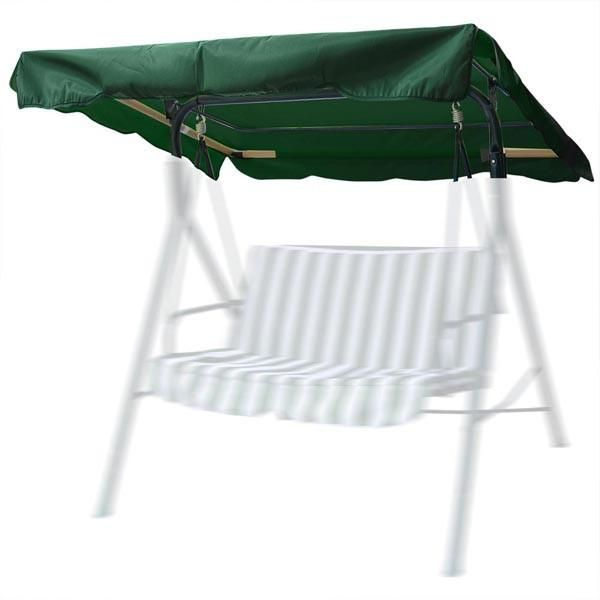 Thediyoutlet Outdoor Patio Swing Canopy Replacement Green Ivory Size Options Outdoor Patio Swing Patio Swing Canopy Patio Swing