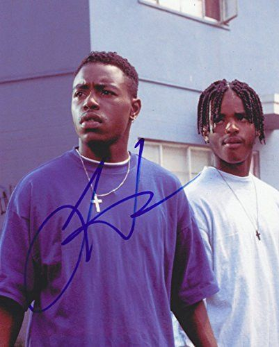 Larenz Tate Autographed Signed 8x10 Photo Coa Menace Ii Society O