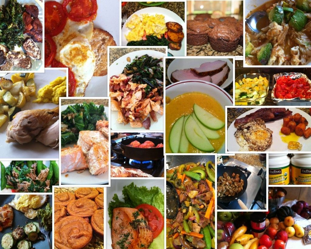 Caveman Diet Ideas : Paleolithic diet collage of food gran free gluten gfree home