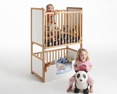 Original Bunk Cot Toddler Bed Cot Kids Zone