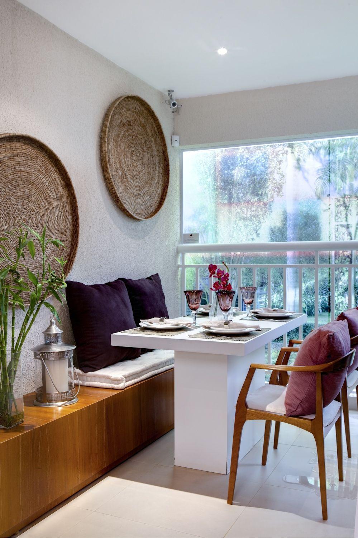 Kleine Wohnungen · Kleine Räume · Varanda Empreendimento Alameda Cotegipe  #SP / Alameda Cotegipe Terrace