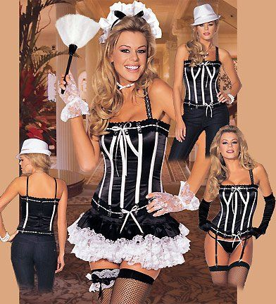 Naughty Nanette – Womens French Maid Sexy Costumes Uniform Lingerie Outfits  http://www.thenightwhisper.com/naughty-nanette-womens-french-maid-sexy-costumes-uniform-lingerie-outfits-2/