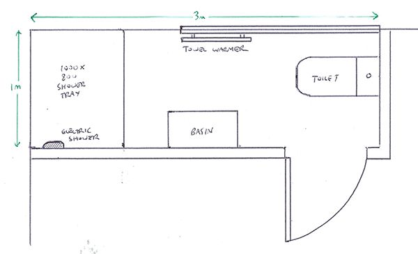 Small Ensuite Plans Home Design