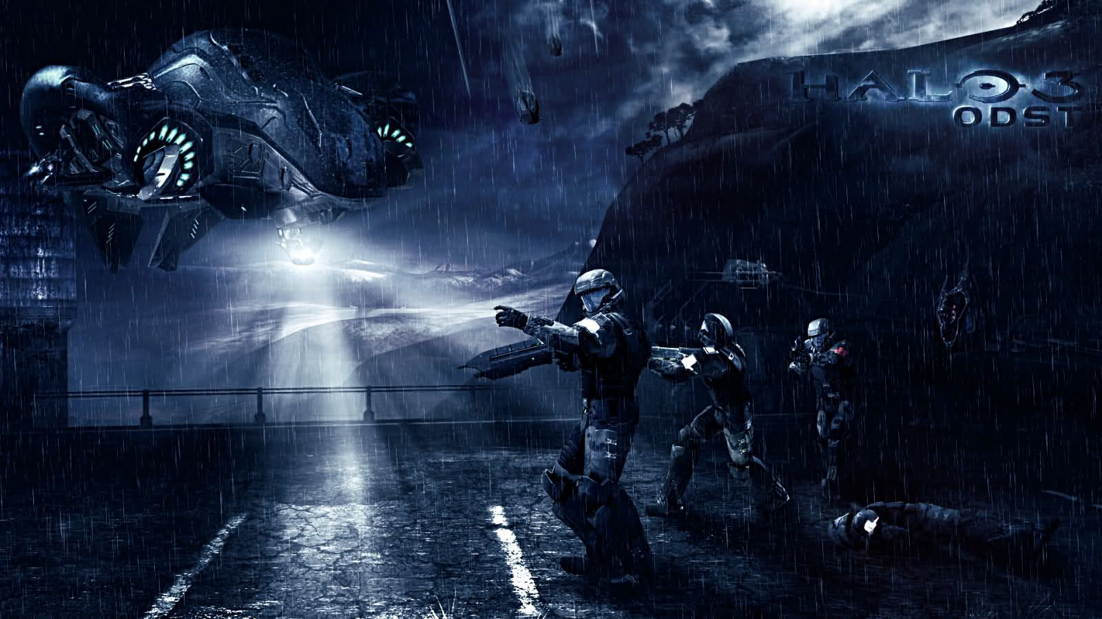 9 Halo 3 Odst Hd Wallpapers Backgrounds Wallpaper Abyss