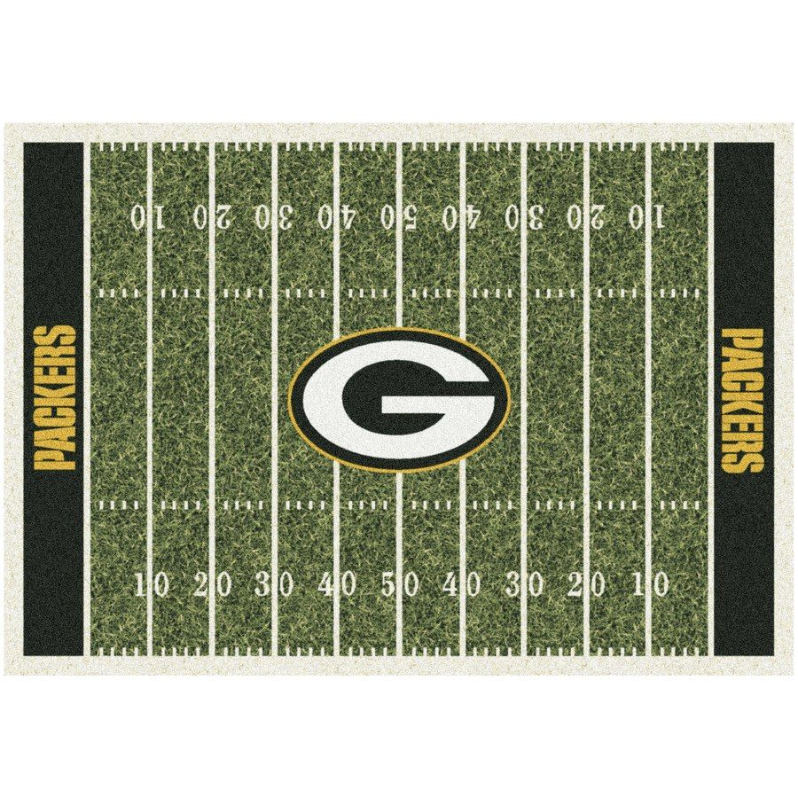 Green Bay Packers 64 X 92 Homefield Rug Nfl Seattle Titans Football Tennessee Titans Football