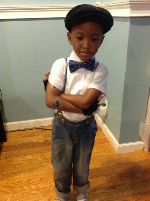 """I'm Chris Brown from the video """"Fine China"""" for dress up day in school. ....yeah"""
