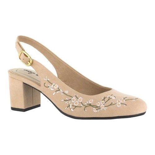 Easy Street Dainty Slingback   High heels, Slingback shoes