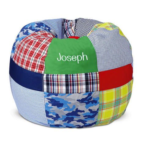 Fine Bright Patchwork Beanbag Chair 89 99 Dylans Room Bean Caraccident5 Cool Chair Designs And Ideas Caraccident5Info