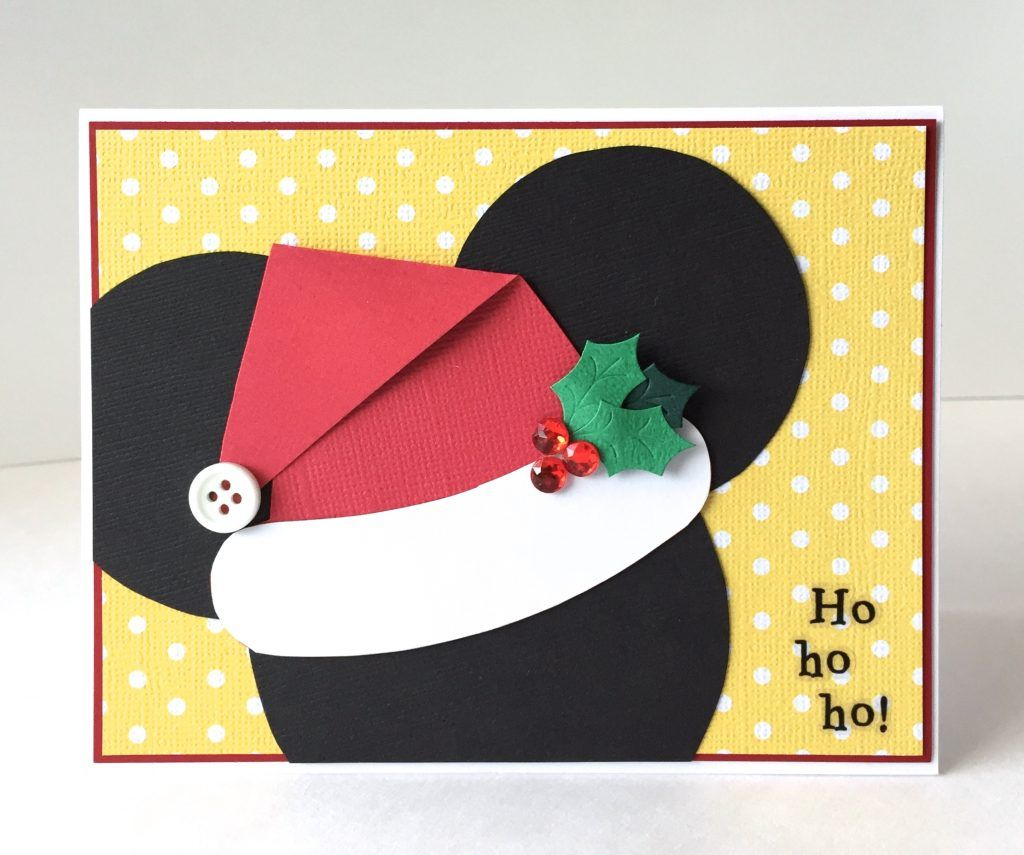 DIY Disney Christmas Card