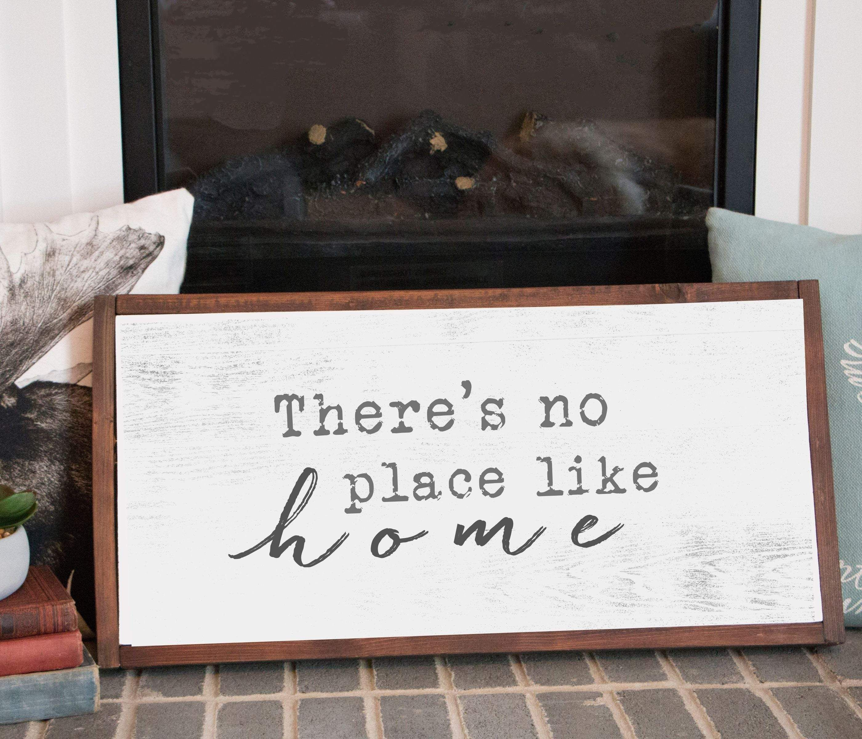 Photo of Large Rustic Farmhouse wooden Signs Custom made – 16×20