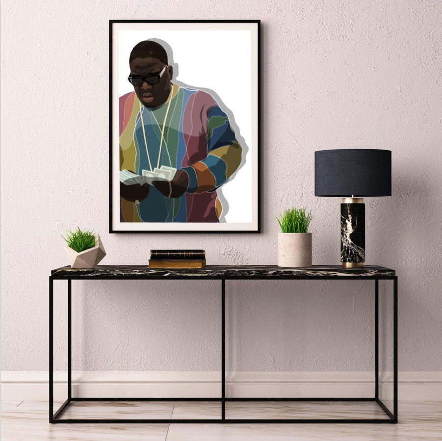 Biggie smalls limited edition print various sizes
