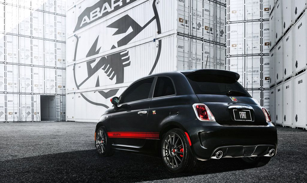 Fiat 500 Abarth 2012, The Manly Version
