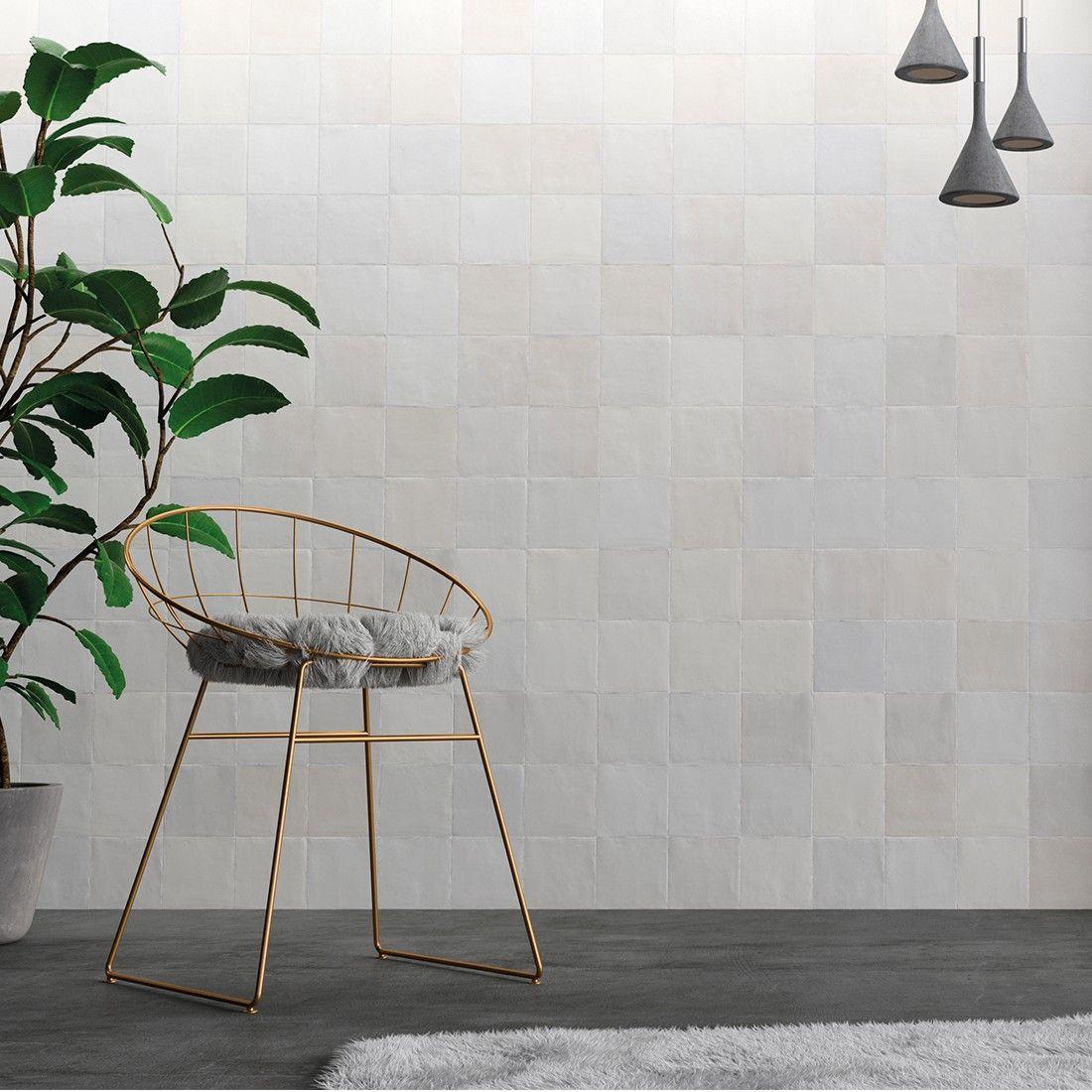 Order Zellige Matt White Tile Online National Tiles White Tiles White Bathroom Tiles White Kitchen Backsplash