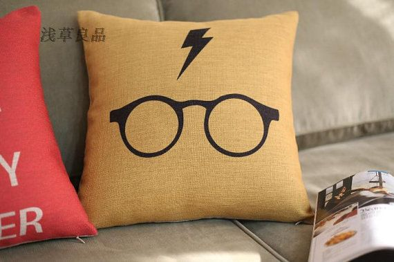 harry potter pillow pillows cushion for by. Black Bedroom Furniture Sets. Home Design Ideas