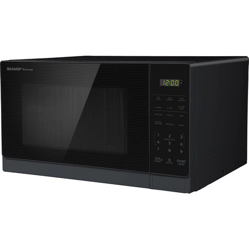 Sharp 0 7 Cu Ft 700 Watt Countertop Microwave Black At Lowe S The Compact 0 7 Cu Ft Sharp Smc0 Countertop Microwave Black Microwave Compact Microwave Oven
