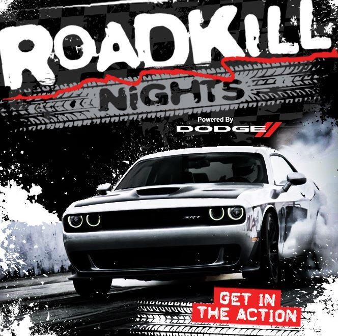Want to #dragrace your buddy? Show off your car before #WDC2015? Here's your chance http://bit.ly/Roadkill-DodgeWDC…
