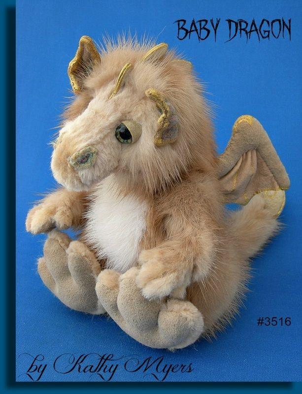 Baby Dragon Mink Animal Animal Plush Toys Animals