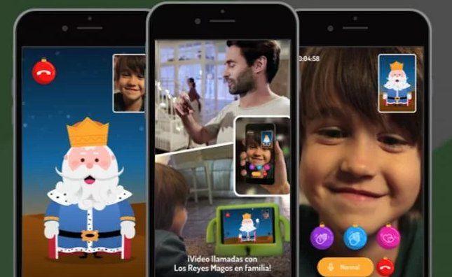 """""""Reyes Magos"""" es una app disponible para iOS que permite a"""