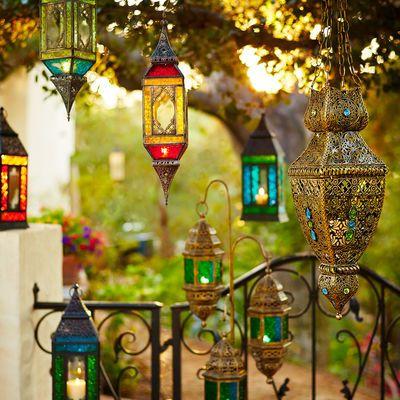 Global Hanging Lantern Floor Lanterns Bohemian Decor Hanging Lanterns