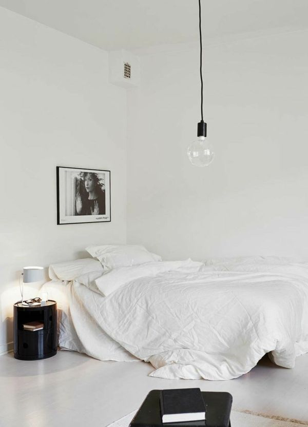 Elegant Schlafzimmerwand Gestalten Wanddeko Schlafzimmer Farben