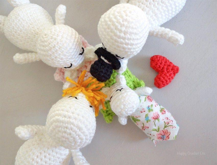 La famille Moomin au crochet s\'agrandit • Crochet Moomin • CRochet ...