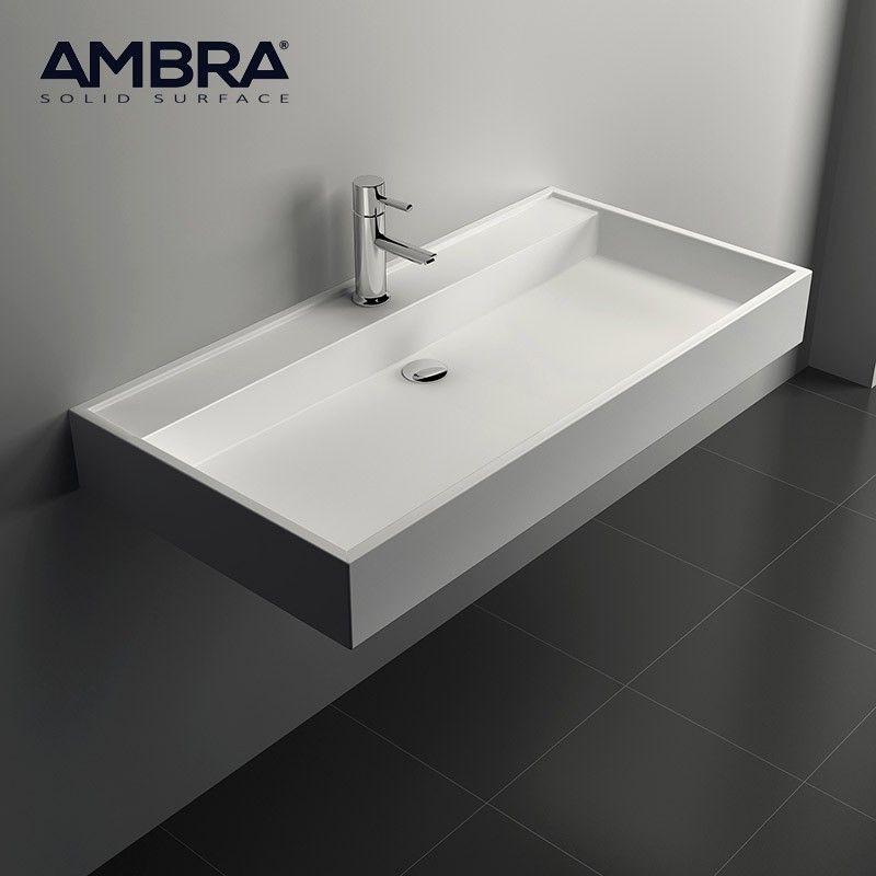 vasque 90 cm suspendue ou poser en solid surface malaga bathroom design pinterest. Black Bedroom Furniture Sets. Home Design Ideas